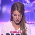Emilie, dans la quotidienne de  Secret Story 9  du mardi 1er septembre 2015 sur NT1.
