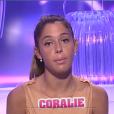 Coralie, attristée par la dégradation de ses rapports avec Rémi, dans la quotidienne de  Secret Story 9  du mardi 1er septembre 2015 sur NT1.