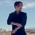 Johnny Depp, dans la dernière campagne Dior pour son parfum Sauvage, photo publiée le 19 août 2015
