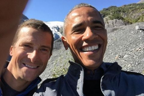 Barack Obama en Alaska : Heureux de ne pas avoir croisé d'ours...
