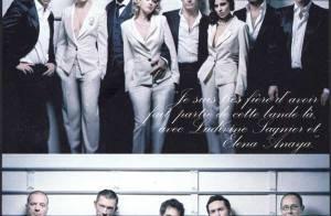 PHOTOS : Cécile de France, magnifique avec l'équipe de 'Mesrine' : 'J'arrive à résister aux hommes qui me courtisent...'