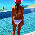 """""""Ronan Keating et sa femme Storm Uechtritz sont en lune de miel sur l'île de Frégate non loin des Seychelles / photo postée sur Instagram."""""""