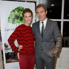 julie andrieu et stphane delajoux au grand palais paris en novembre 2014 - Photos Mariage Julie Andrieu Stephane Delajoux