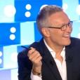 Laurent Ruquier présente  On n'est pas couché  sur France 2, le samedi 12 septembre 2015.