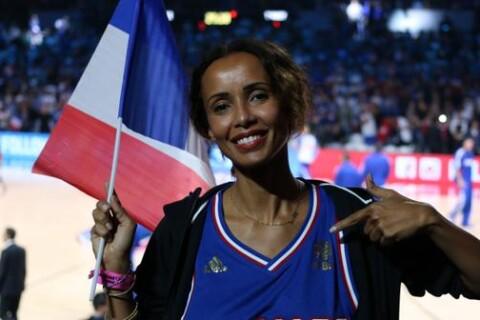 Sonia Rolland : Supportrice de charme pour Tony Parker et l'équipe de France