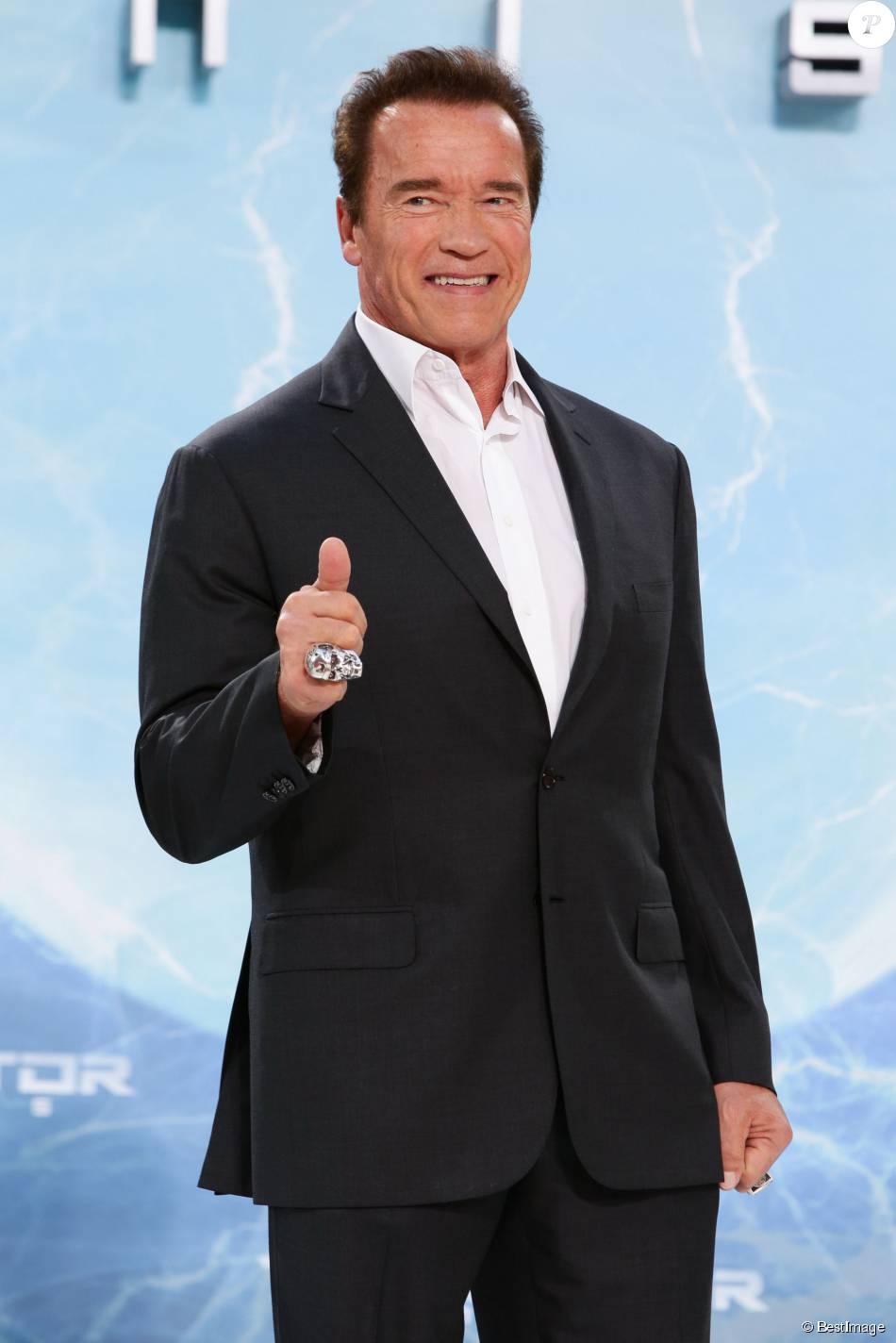 "Arnold Schwarzenegger - Avant-première du film ""Terminator"" à Berlin, le 21 juin 2015."