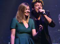 Louane et Patrick Bruel en duo devant Tal au concert Leurs voix pour l'Espoir