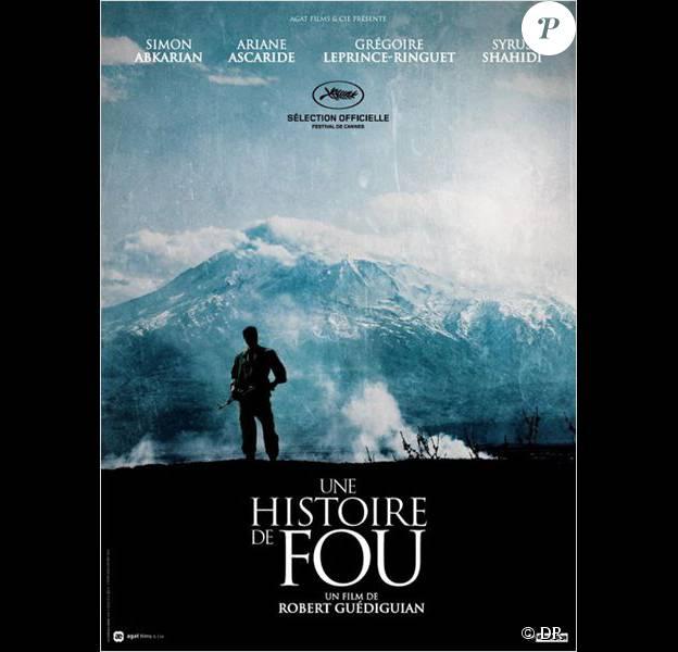 Affiche du film Une histoire de fou en salles le 11 novembre 2015