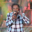 """Exclusif - Yannick Noah lors de l'enregistrement de l'émission """"Les années bonheur"""" le 7 octobre 2014"""