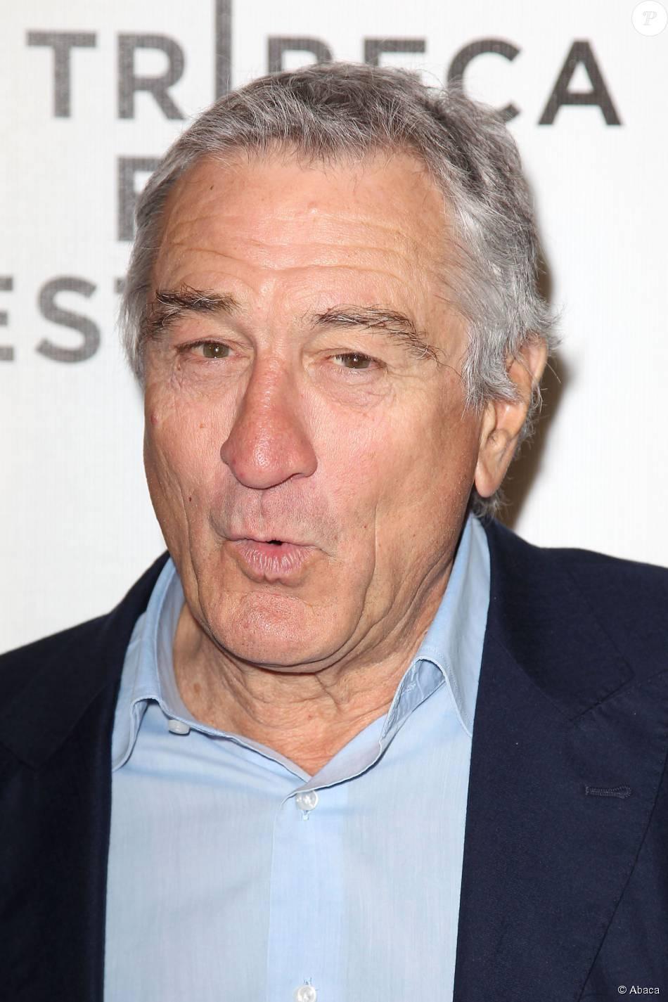 Robert De Niro à New York, le 17 avril 2014.