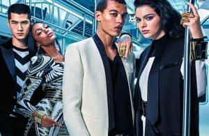 Kendall Jenner et Gigi Hadid : Tops futuristes en Balmain x H&M