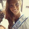 Iris Mittenaere, nouvelle Miss Nord-Pas-de-Calais, juillet 2015.