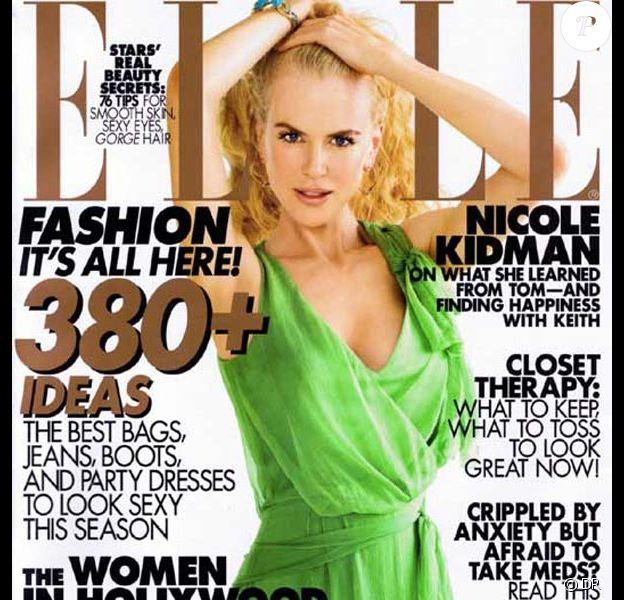 Nicole Kidman pour Elle