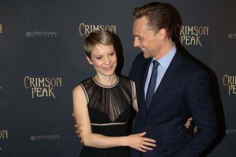 "Mia Wasikowska et Tom Hiddleston, charmeurs pour l'effrayant ""Crimson Peak"""