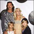 Lorenzo Lamas et ses 3 filles Shayne, Isabella et Victoria.