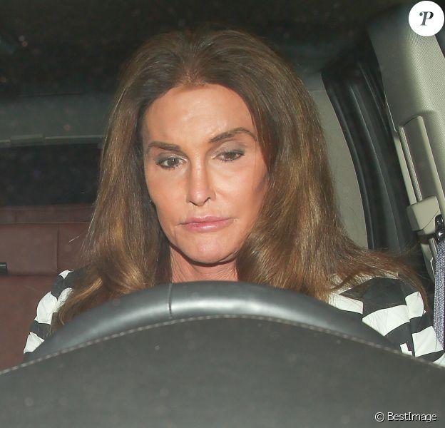 Caitlyn Jenner arrive à l'aéroport à Los Angeles le 3 septembre 2015.