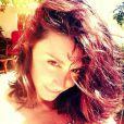Jenifer épanouie le 9 juillet 2014 en Corse