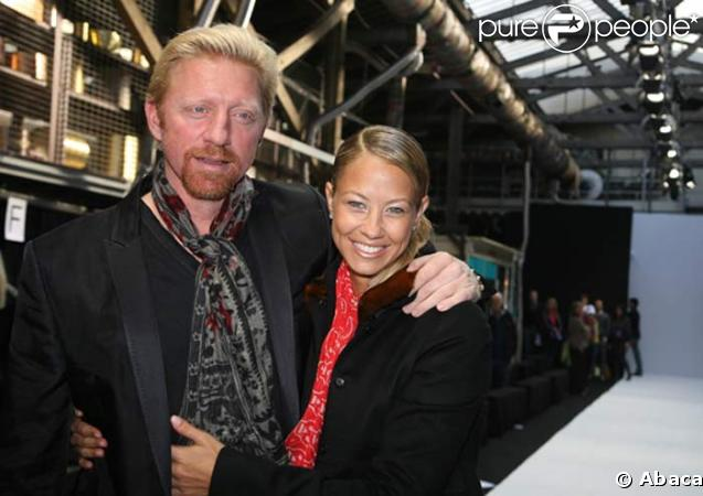 Boris Becker et Sandy Meyer-Wölden