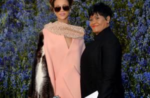 Défilé Dior : Rihanna en famille face à Estelle Lefébure et Cressida Bonas