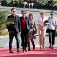 Bertrand Faivre, Noah Taylor, Emma De Caunes, Alexandra Lamy et Mélanie Doutey- Festival du Film Britannique de Dinard le 1er octobre 2015