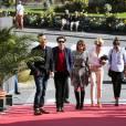 Bertrand Faivre, Noah Taylor, Emma De Caunes, Alexandra Lamy et Mélanie Doutey- Festival du Film Britannique de Dinard le 2 octobre 2015