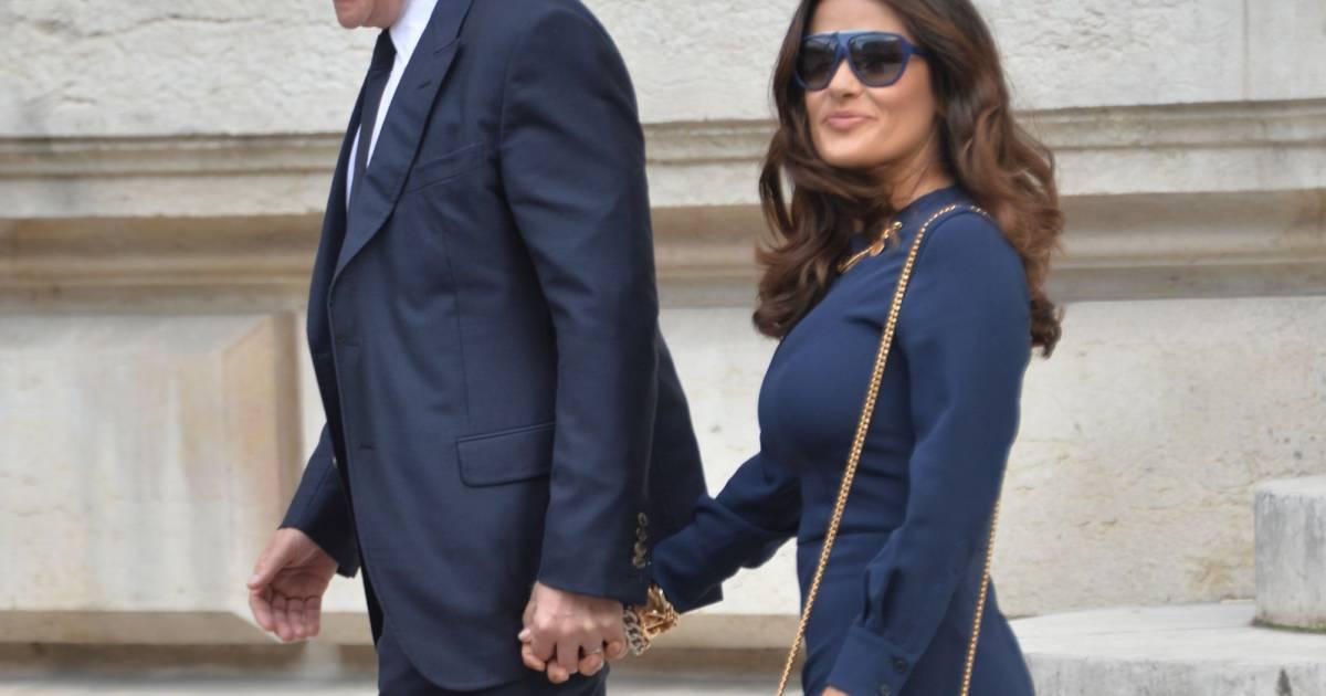 Fran ois henri pinault et sa femme salma hayek people - Francois busnel sa femme ...