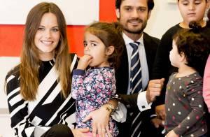 Princesse Sofia de Suède: Emouvant retour avec Carl Philip dans sa région natale