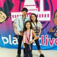 Caleb, Hayley et Annie Bratayley, sur Instagram. 2015