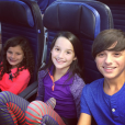 Caleb et ses soeurs Hayley et Annie Bratayley. Instagram, 2015.