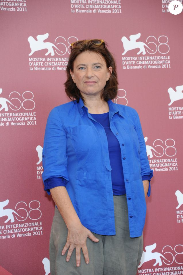 Chantal Akerman - Photocall du film La Folie Almayer à la Mostra de Venise le 3 septembre 2011