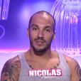 Nicolas, dans la quotidienne de  Secret Story 9 , le vendredi 9 octobre 2015 sur NT1.