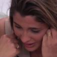 Les larmes de Coralie, dans la quotidienne de  Secret Story 9 , le vendredi 9 octobre 2015 sur NT1.