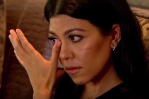 Kourtney Kardashian craque face aux larmes de son ex Scott Disick