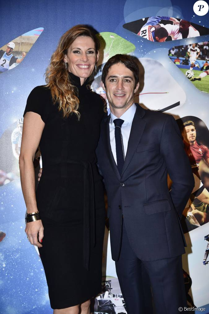 sophie thalmann et son mari christophe soumillon 26e dition des sportel awards au grimaldi. Black Bedroom Furniture Sets. Home Design Ideas