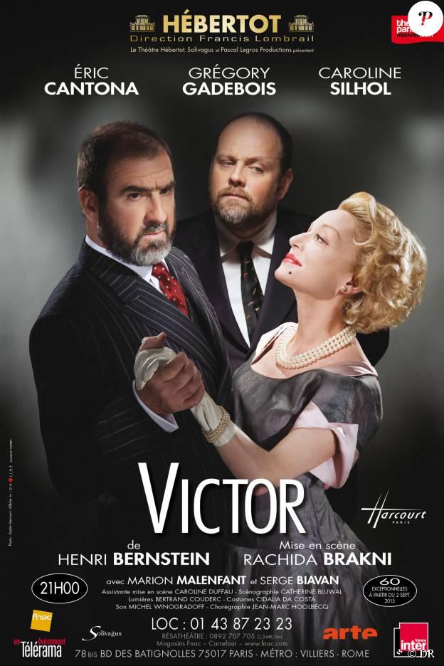 Affiche du spectacle Victor au théâtre Hébertot