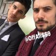 Joe et son frère Ali de Secret Story 9.