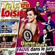 Magazine  Télé-Loisirs  en kiosques le 19 octobre 2015.
