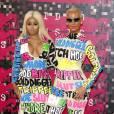 Blac Chyna et Amber Rose assistent aux MTV Video Music Awards à Los Angeles le 30 août 2015.