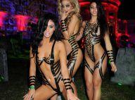 Halloween par Maxim : Aubrey O'Day et son décolleté d'enfer au bal des bimbos !