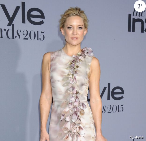 Kate Hudson assiste à la première édition des InStyle Awards au Getty Center. Los Angeles, le 26 octobre 2015.
