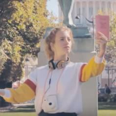 Premier épisode de la campagne de publicité pour la collection Evernew de Sloggi, réalisée par Lola Bessis