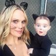 Molly Sims et sa fille Scarlett déguisées / photo postée sur le compte Instagram de l'actrice américaine.