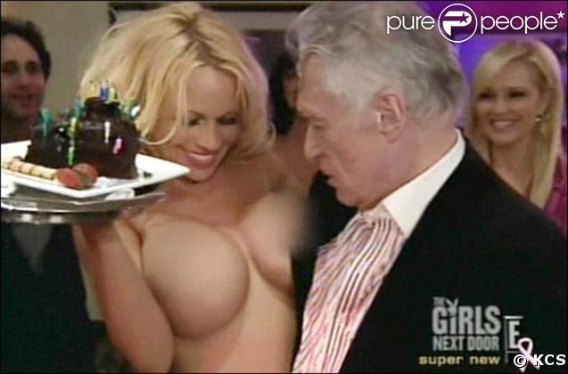 Pamela Anderson et Hugh Hefner