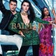 Film de campagne de la collection Balmain x H&M avec Kendall Jenner et Olivier Rousteing.