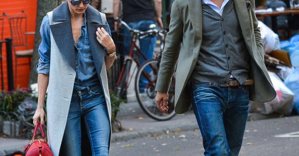 olivia palermo et son mari johannes huebl se prom nent en amoureux dans les rues de new york le. Black Bedroom Furniture Sets. Home Design Ideas