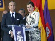 Letizia d'Espagne : Glamour pour un moment hautement symbolique avec la police