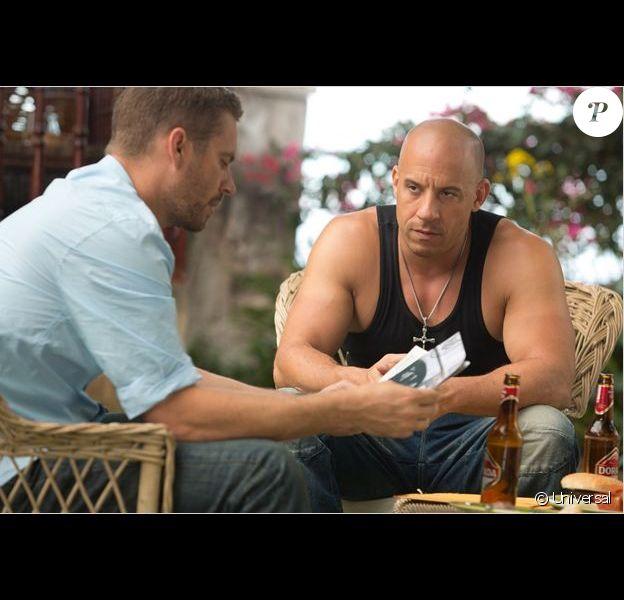 Vin Diesel et Paul Walker dans Fast & Furious 6