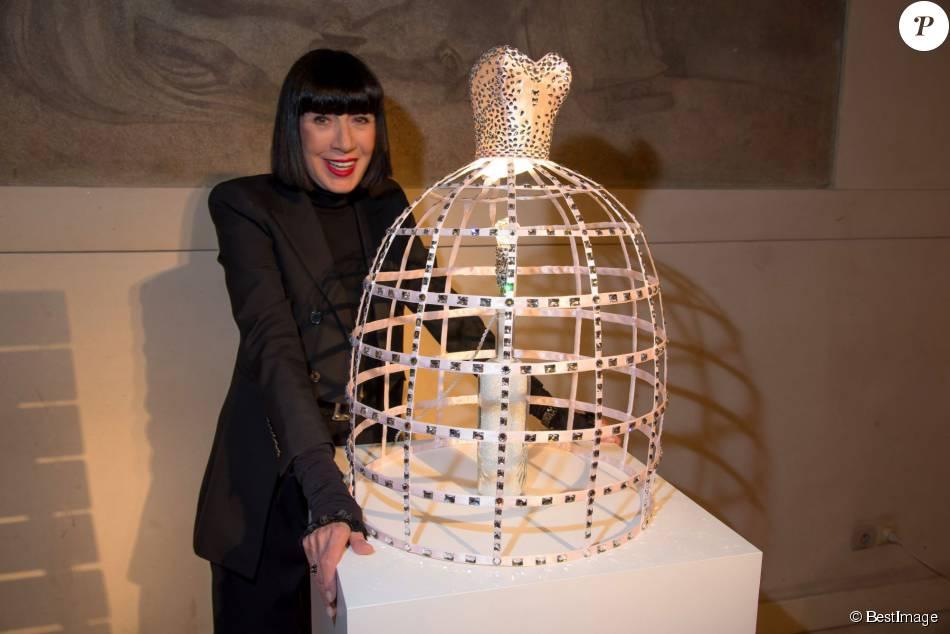 Chantal Thomass - 20ème édition des sapins de noël des créateurs au théatre des Champs-Elysées à Paris le 20 novembre 2015.