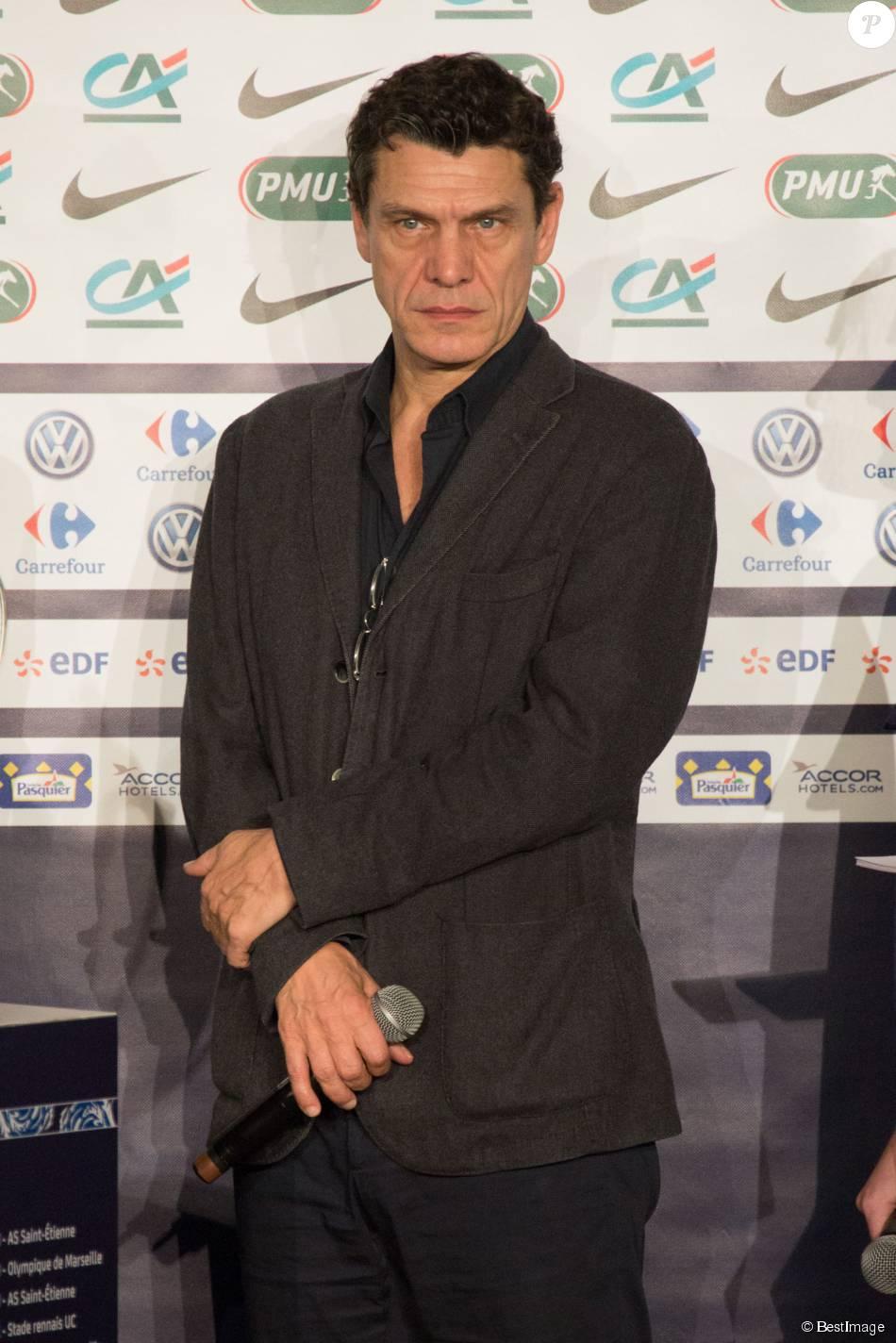 Marc lavoine au tirage au sort du 7 me tour de la coupe de - Tirage coupe de france de football 2015 ...