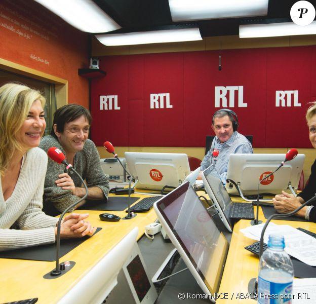 Muriel Robin, Michèle Laroque et Pierre Palmade, invités de RTL le 24 novembre 2015